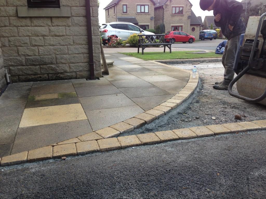 driveway needing repair