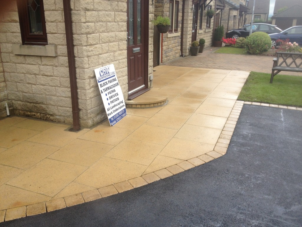 driveway repaired