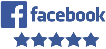 Facebook 5 star reviews logo